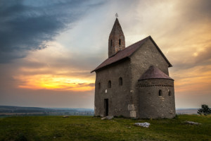 © Kayco | stockfresh.com Hill at Sunset in Drazovce, Slovakia