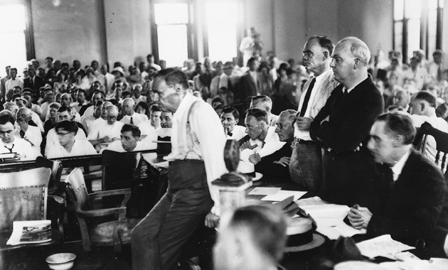 the scopes trial At the time of scopes trial, a significant american historical event, the influence of media was just beginning its history and in advancements into american.